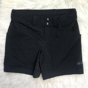 REI Women's Black Shorts Outdoor Hiking size 0